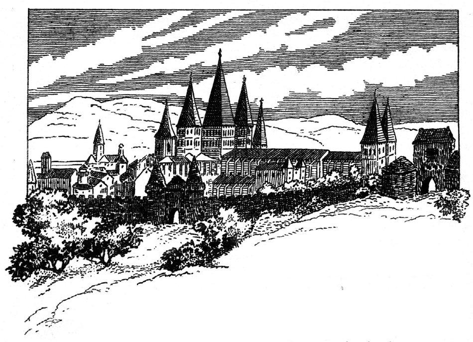 Abbaye bénédictine du Moyen-Age, Cluny