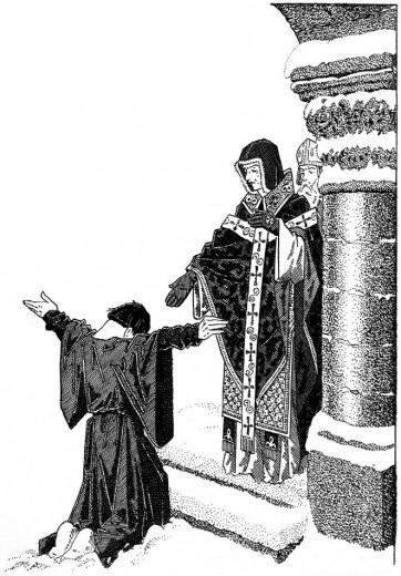 Séparation du spirituel et du temporel, Henri IV et Grégoire VII à Conossa