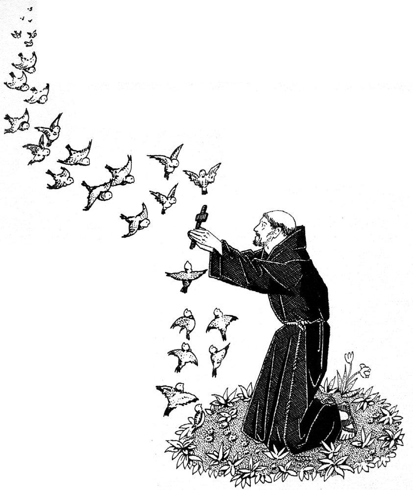 Saint François d'Assise et les Franciscains