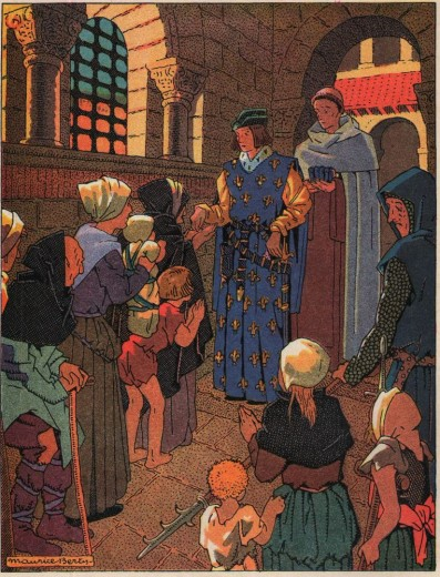 Les saints et les artistes de la Chrétienté au moyen age