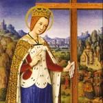 Sainte Hélène invente la vraie croix avec saint Macaire à Jérusalem