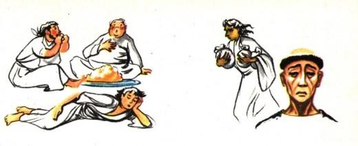 Saint Antoine lutte contre les vices