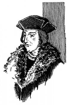 Saint Thomas More qui s'oppose à l'Anglicanisme.