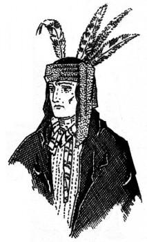 Histoire des missions du nouveau monde : un chef iroquois