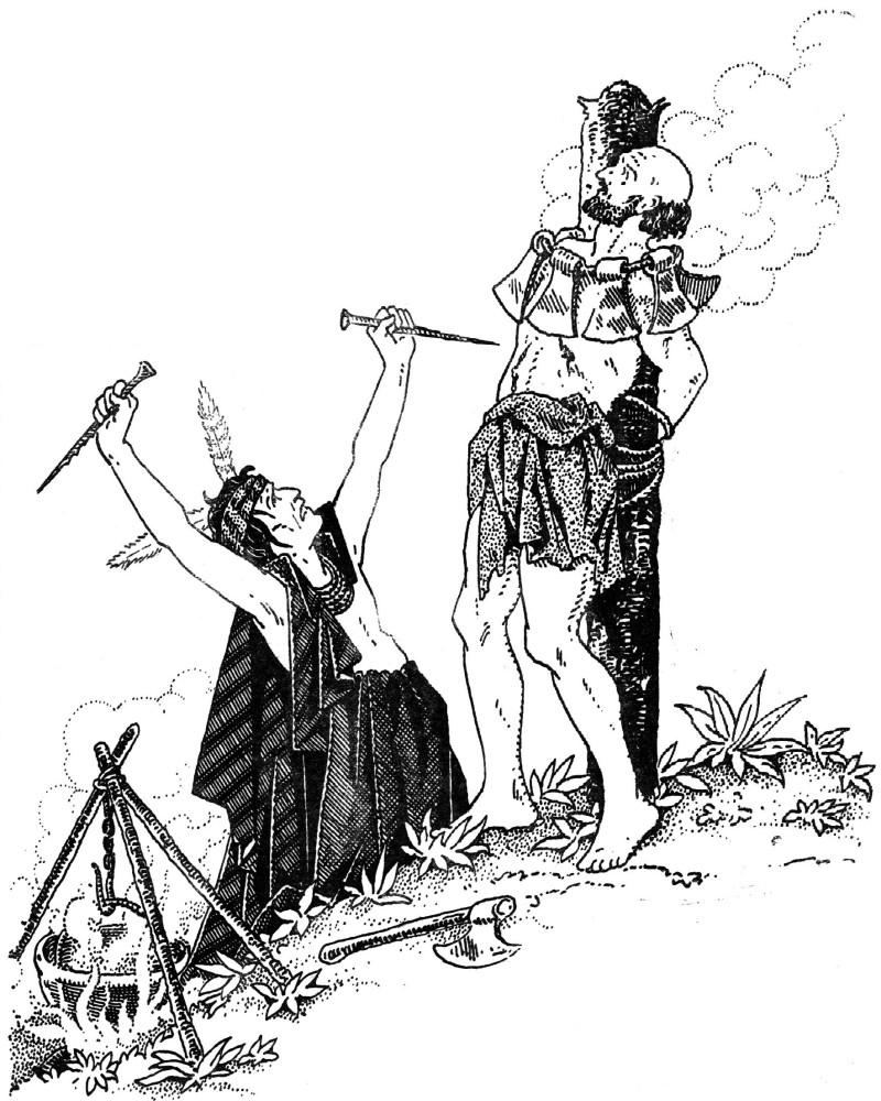 Récit des martyrs des indiens d'Amérique