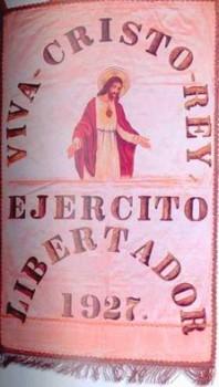 Bannière Viva Crister Rey - Les Cristeros racontés aux enfants