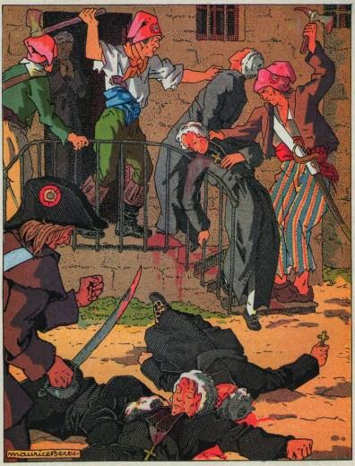 L'église et la révolution : massacre du clergé réfractaire