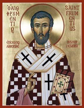 Icone de Saint Frumence