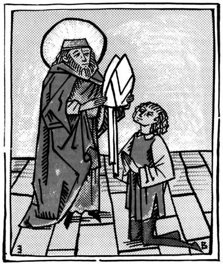 Au sage archevêque, Frumence raconta son aventure.