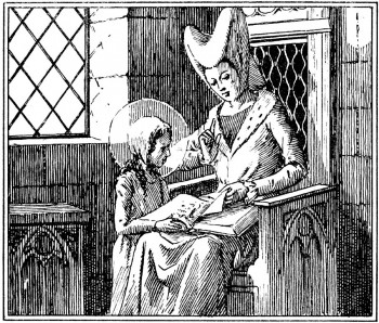 Vie de Sainte Jeanne de France, Reine puis religieuse