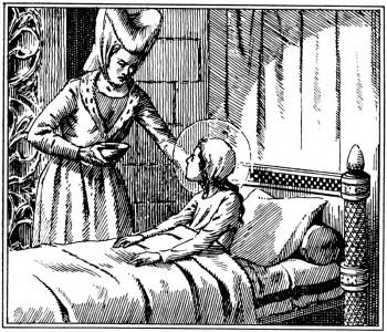 L'enfance de Sainte Jeanne de France