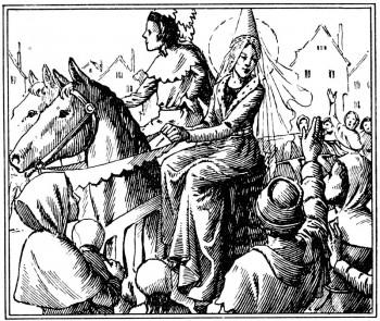 Récit pour les jeunes du mariage du duc d'Orléans et de Jeanne de France