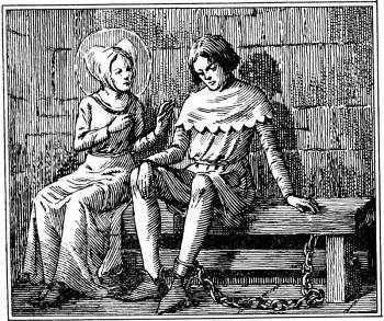 Le duc d'Orléans dans le cachot de Bourges