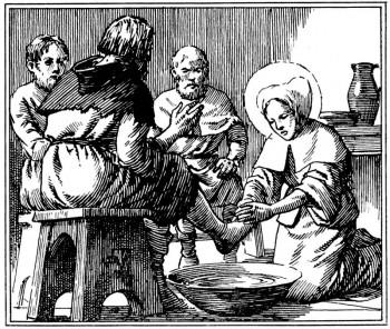 Coloriage pour le caté de sainte Jeanne de France.