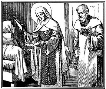 Vie de saint pour les enfants de la catéchèse : miracle de Ste Jeanne de France