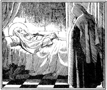Sainte mort de la duchesse Jeanne de France