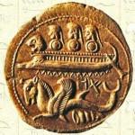 monnaie phénicienne - Navire