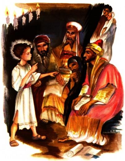 Jésus parmi les docteurs du Temple - livre gratuit en ligne