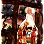Voici ta mère, Jésus nous confie à Marie