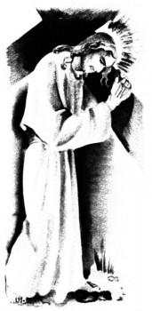 chemin de croix adapté aux enfants : Jésus rencontre sa mère