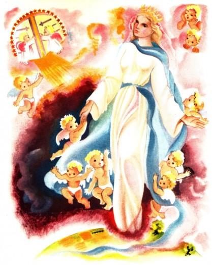 Marie Reine du Ciel : l'Assomption