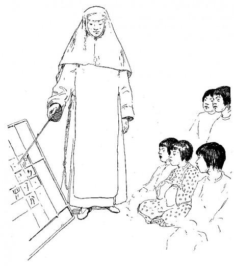 Franciscains en Chine envoyés par Clément V