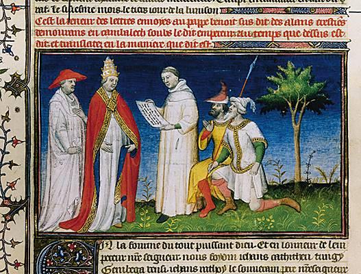 Benoît XII et les missionnaires et les envoyés de Chine