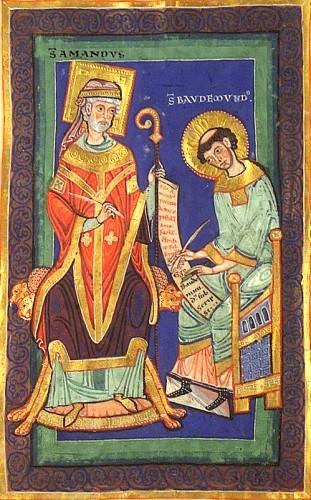 Saint Amand l'apôtre de la Belgique