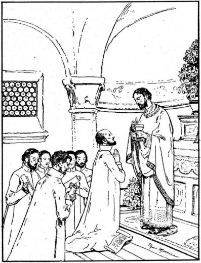Histoire des missions pour les scouts : Saint François Xavier et Saint Ignace de Loyola
