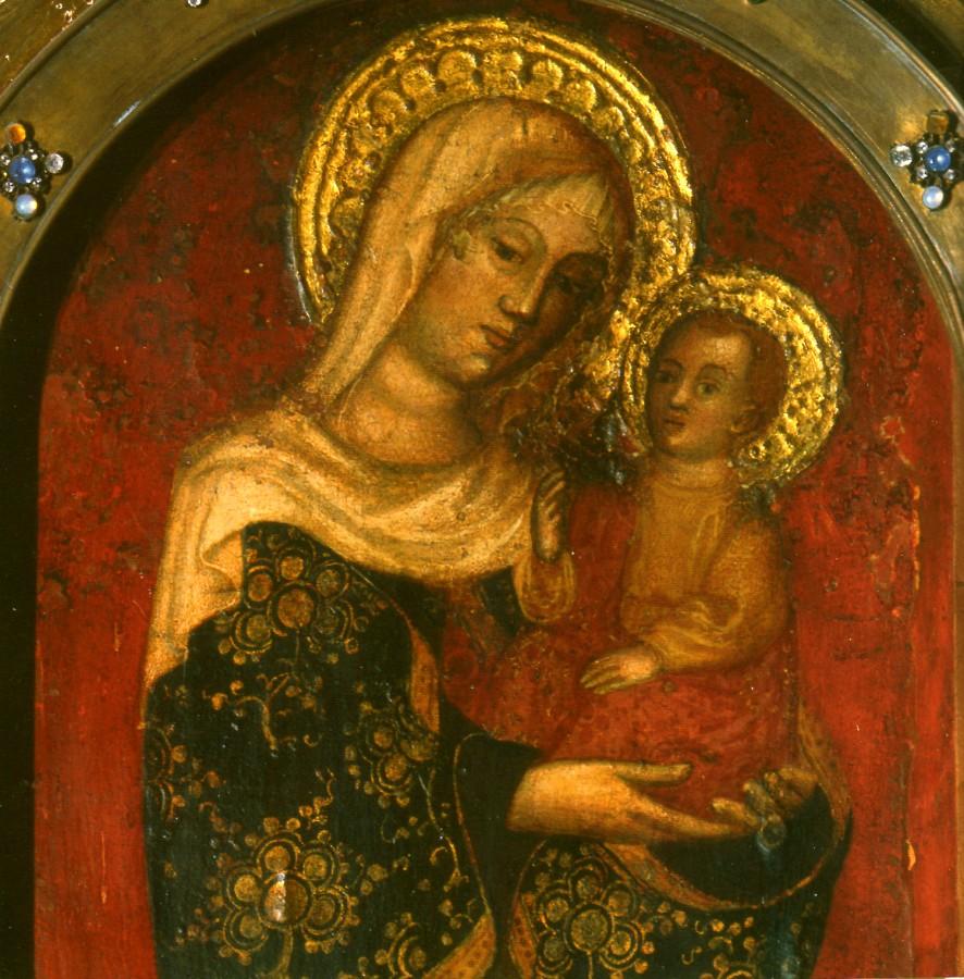 Icone de Marie des miracles - récit pour la veillée de Noël