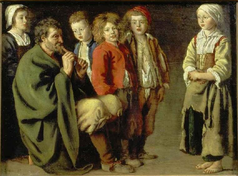 Le bucheron et ses enfants - Conte des rois mages et de la galette