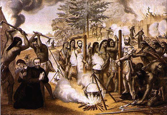Récit des martyrs du canada