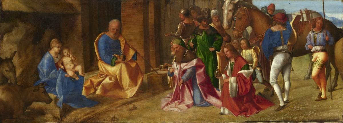 Conte de l'epiphanie - Adoration de Jésus à la Crèche
