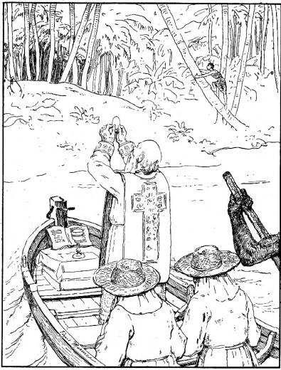 Récit pour les veillées scouts - une messe dans la lagune