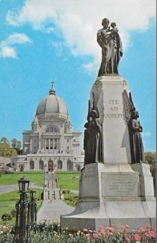 Saint Joseph et l'Oratoire à Montréal