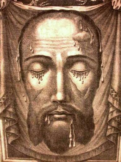 La sainte Face du Christ durant la Passion