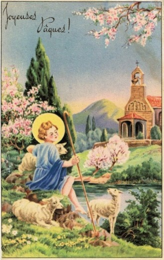 Joyeuses Pâques aux enfants - Catéchisme