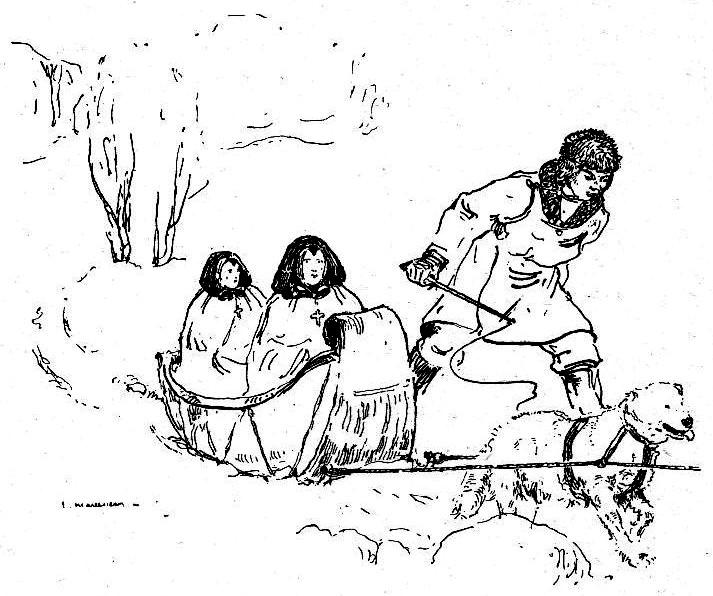 Missionnaire sur la banquise