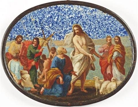 Jésus donne le pouvoir aux prêtres par le sacrement de l'ordre