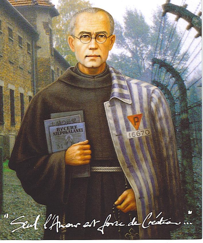 Récit pour les enfants du père Kolbe dans un camp nazie