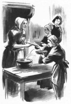 Récit pour le caté - Les soeurs de saint Vincent de Paul à la soupe