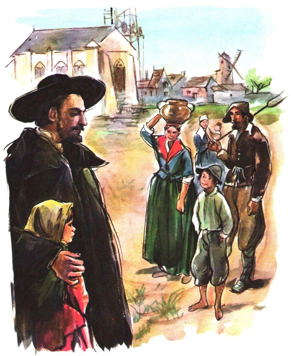 Histoire pour la veillée scoute :Saint Vincent à Clichy