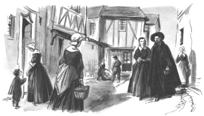 Les soeurs de la Charité aident les pauvres
