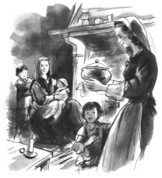 Institution des dames de la charité par Saint Vincent de Paul