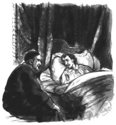 Le roi Louis XIII demande Monsieur Vincent pour l'aider à l'heure dernière