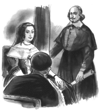 Anne d'Autriche prend Saint Vincent comme directeur de conscience - Mazarin