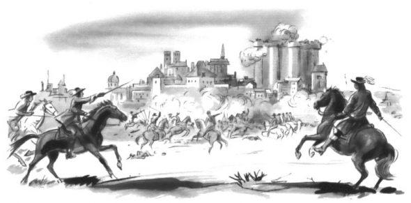 ŒUVRES CHRÉTIENNES DES FAMILLES ROYALES DE FRANCE - (Images et Musique)- année 1870  M_Vincent_0037i-et-la-Fronde-590x291