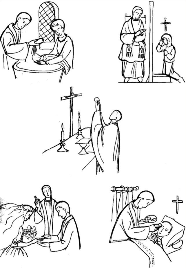 Ordination - les différentes fonctions du prêtre