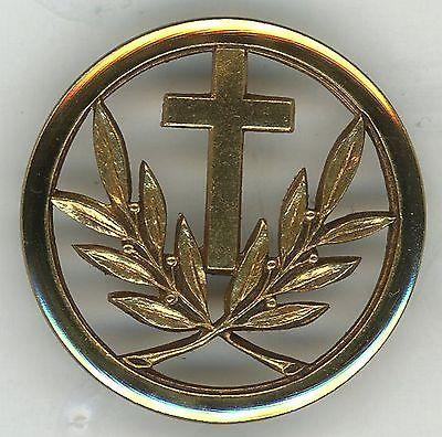 Insigne aumonier militaire