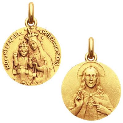 médaille scapulaire